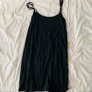 Brandy Melville Black Tank Dress
